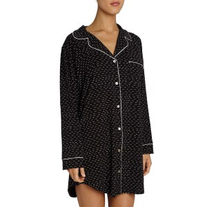 Eberjey Sleep Chic Sleepshirt, Domino
