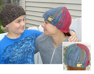 Free Knitting Pattern: Basic Hat