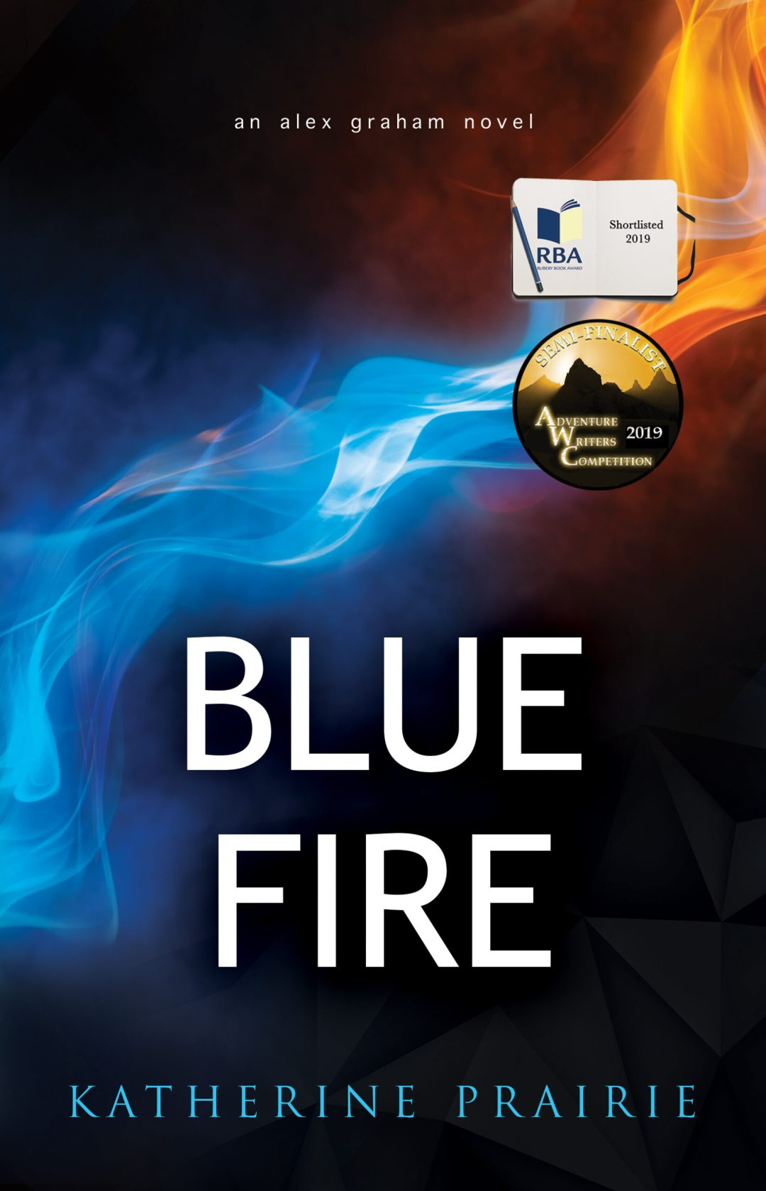 Blue Fire book cover