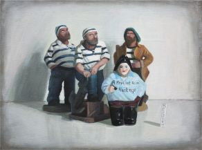 2010, Oil on canvas, 40cm x 30cm