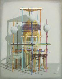 2015, Oil on canvas, 40cm x 50cm