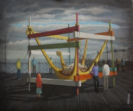 2015, Oil on canvas, 66cm x56cm