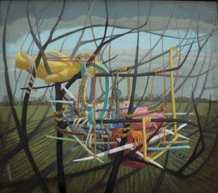 2015, Oil on canvas,68cm x 62cm
