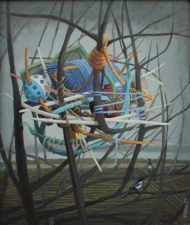 2015, Oil on canvas,47cm x53cm