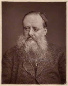 Wilkie Collins, by Lock & Whitfield, woodburytype on paper mount, 1881 or before