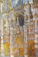 Claude Monet's Rouen Cathedrals