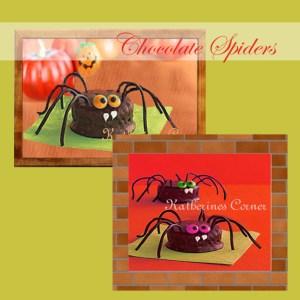 chocolate spider craft katherines corner