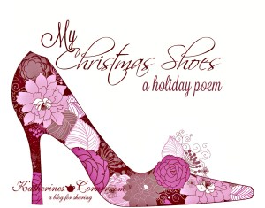 my Christmas shoes poem