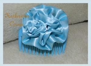 ribbon hair comb