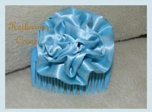 ribbon hair comb