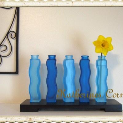 Wordless Wednesday Blue Vase