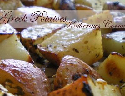 Meatless Monday Recipe Greek Style Potatoes