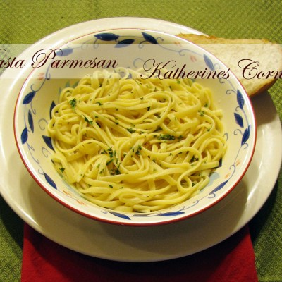 Meals On Monday Pasta Parmesan