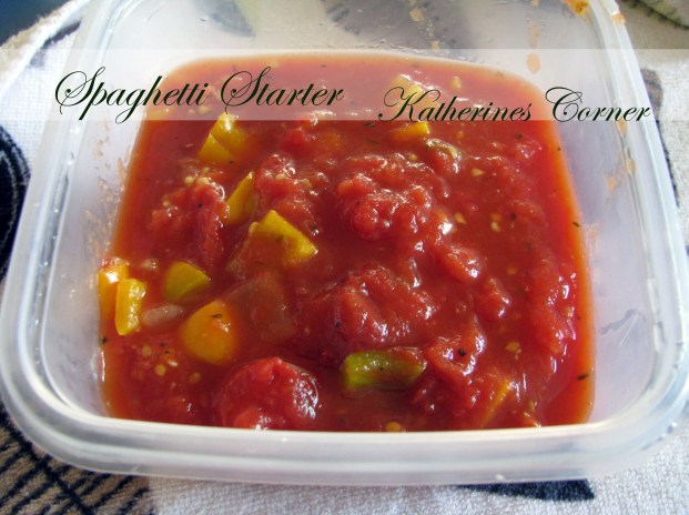 spaghetti starter katherines corner