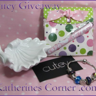 A Cutey Giveaway