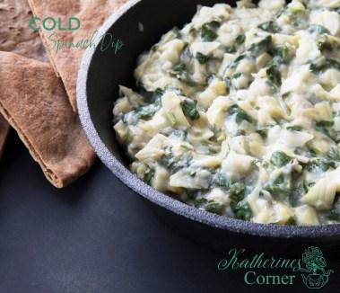 cold spinach dip recipe