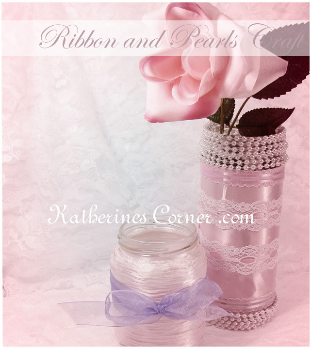 ribbon and pearls craft katherines corner
