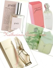 perfume collage