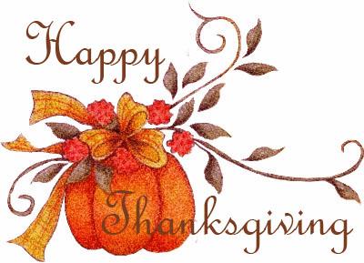 Semi Wordless Wednesday Happy Thanksgiving
