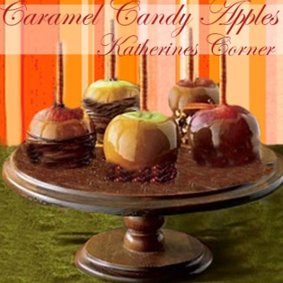 Caramel Candy Apple Treats