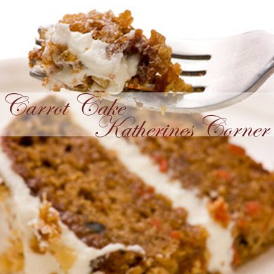 carrot cake with creamcheese frosting
