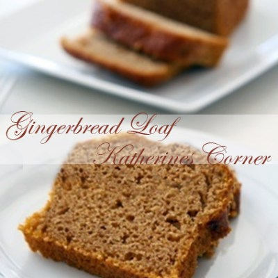 Yummy Holiday Gingerbread Loaf Recipe