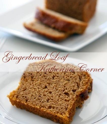gingerbread loaf katherines corner
