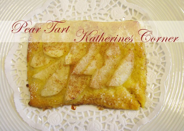 pear tart katherines corner