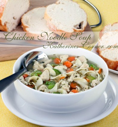 chicken noodle soup katherines corner