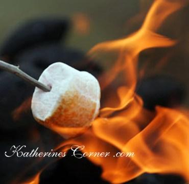 toasting marshmallows katherines corner