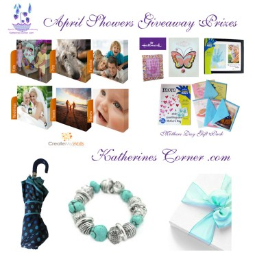 april showers giveaway prizes katherines corner