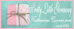 pretty little giveaway button