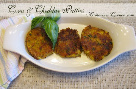corn and cheddar patties katherines corner