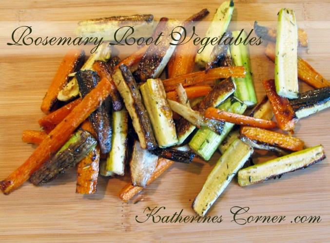 grilled rosemary root vegetables recipe