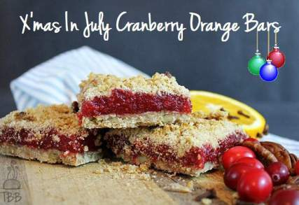 cranberry ornage bars