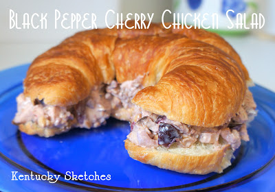 cherry chicken salad