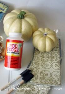 pumpkin craft supplies