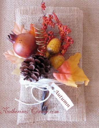 autumn flower bundle