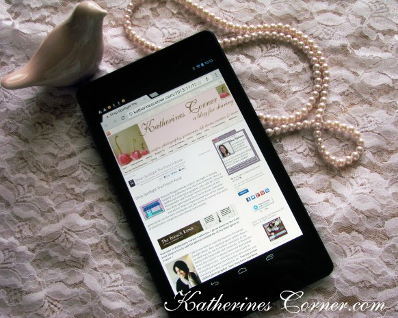 nexus 7 tablet for bloggers