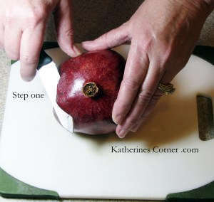 step one how to seed a pomegranate