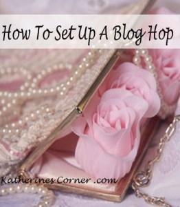 how to set up a blog hop