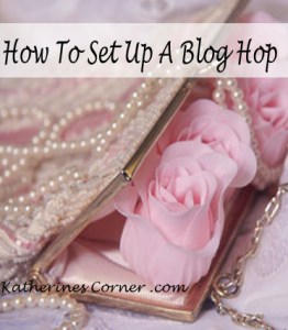 how to set up a blog hop