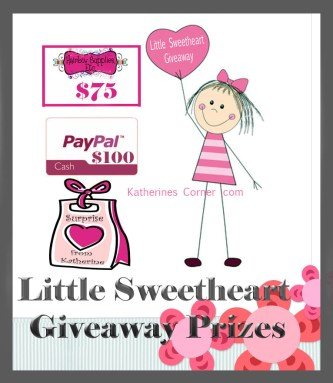 little sweetheart giveaway prizes