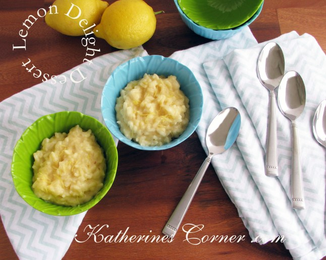 lemon delight dessert recipe