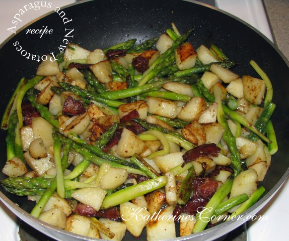 asparagus and new potatoes katherines corner