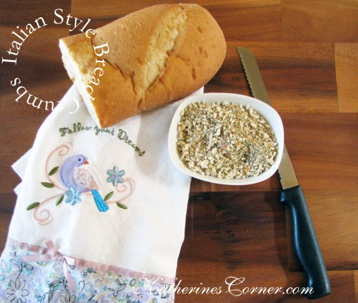 homemade italian bread crumbs recipe