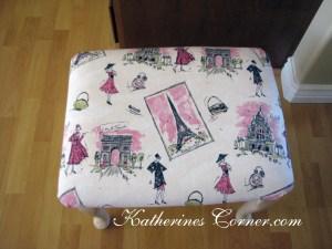 parisian vanity makeover seat