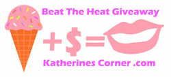 beat the heat giveaway button