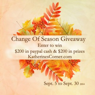 change of season giveaway