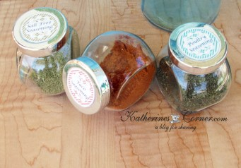 migraine safe seasoning recipes katherines corner